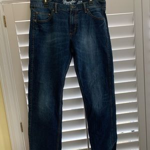 Men's 36x34 Wrangler Retro Slim Straight Jeans